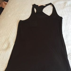 NWOT MICHAEL STAR BLACK COTTON TANK TOP